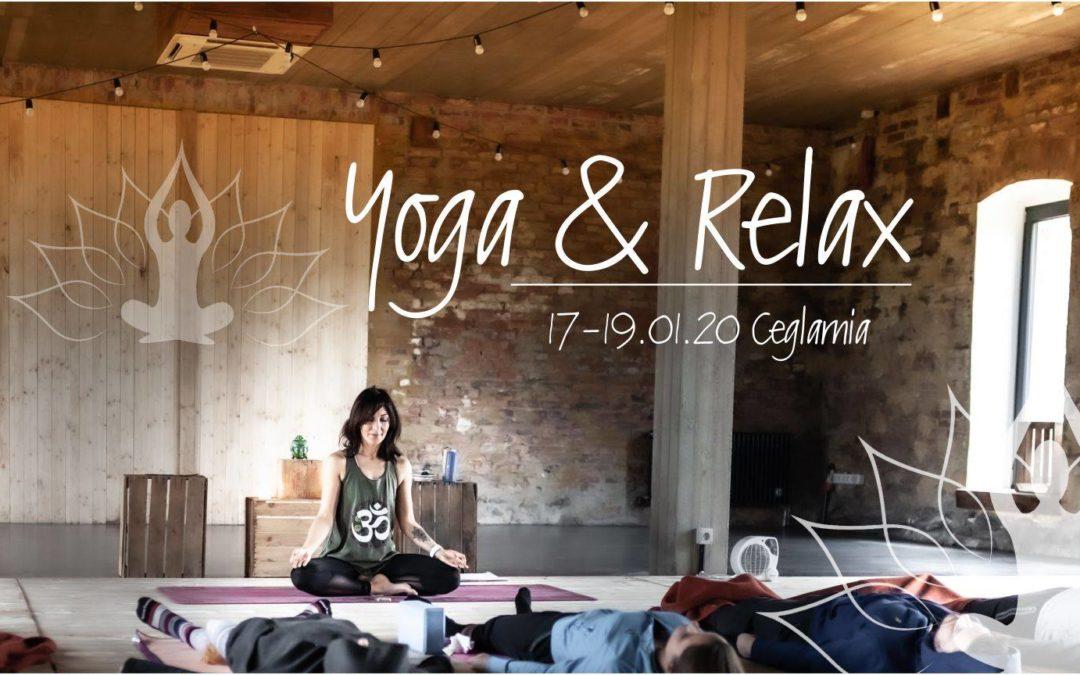Joga &Relax 17-19.01.20 Ceglarnia